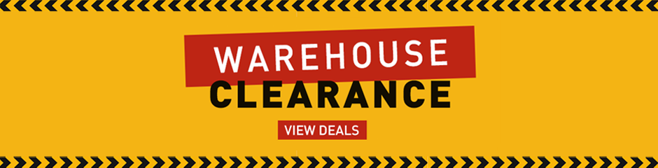 Warehouse clearance deals