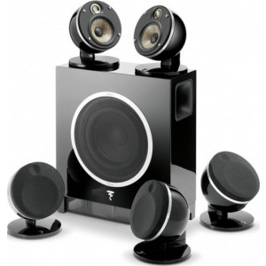 Focal Dome Flax 5.1 AV Speaker Package Black