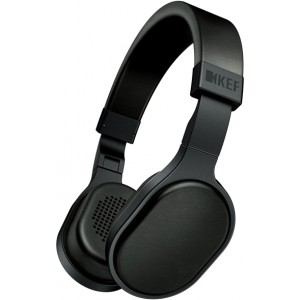 KEF M500 Headphones with Remote - Black
