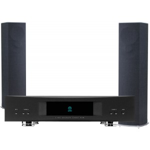Linn 520 Speakers (Pair) with Akurate Exakt DSM