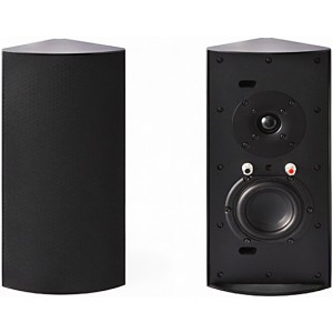 Cornered Audio C3 Corner Speakers (Pair) Black