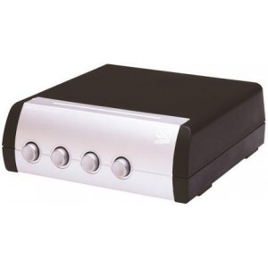 QED SS40 4-Way Speaker Switch Box