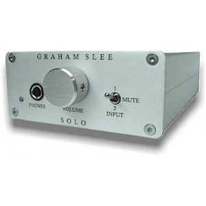 Graham Slee Solo SRG II Green Headphone Amplifier