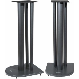 Atacama Nexus 6i Speaker Stands Silver Top