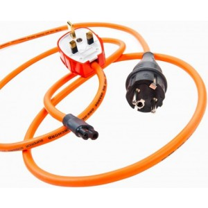 Ecosse Big orange GR8 Figure 8 Mains Cable
