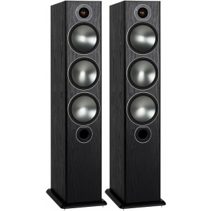 Monitor Audio Bronze 6 Speakers (Pair) Black Oak
