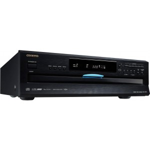 Onkyo DX-C390 Multi CD Player Black Corner