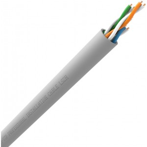 QED QX-CAT5e UTP LSZH Grey Data Network Cable 200m Box