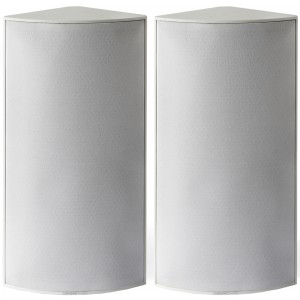 Cornered Audio C3 Corner Speakers (Pair) White