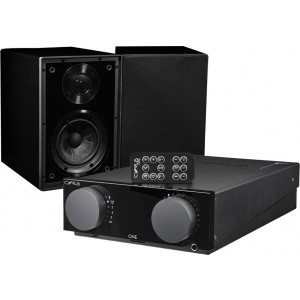Cyrus One Integrated Amplifier + Linear One Speakers