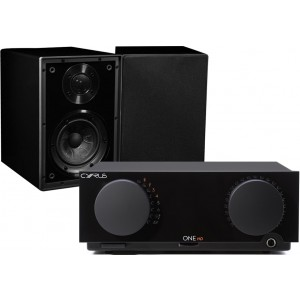 Cyrus One HD Integrated Amplifier + Linear One Speakers