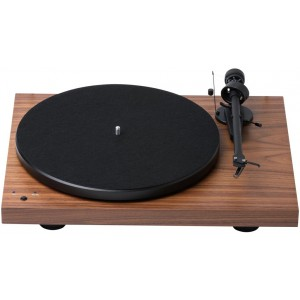 Pro-Ject Debut RecordMaster Turntable Walnut