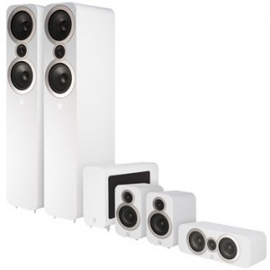 Q Acoustics 3050i 5.1 Cinema Speaker Package