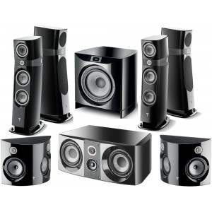 Focal Sopra 3 Home Cinema 7.1 Speaker Package