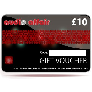 Audio Affair £10 Gift Voucher