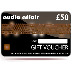 Audio Affair £50 Gift Voucher