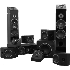 Elipson Prestige Facet 7.2.4 Speaker Package Black