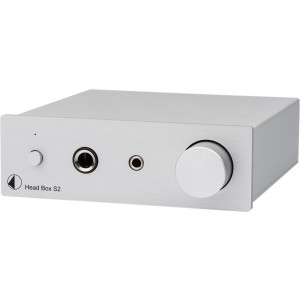 Pro-Ject Head Box S2 Headphone Amplifier Silver