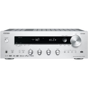Onkyo TX-8270 Stereo Receiver Silver Front