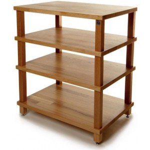 Hi-Fi Racks Slimline Podium 4 Shelf Hi-Fi Stand