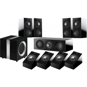 KEF R3 5.1 Speaker Package + R8A for Atmos