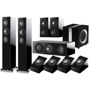 KEF R5 5.1 Speaker Package + R8A for Atmos