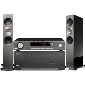 HiFi Package 16 - Arcam SA20 + P49 + KEF Reference 3