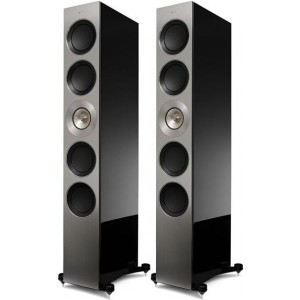 KEF The Reference 5 speakers in black gloss