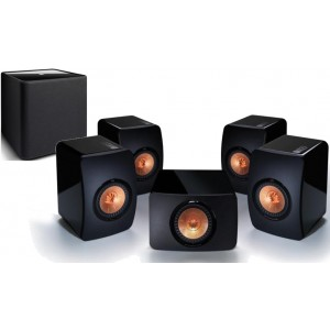 KEF LS50 5.1 Speaker Package Black