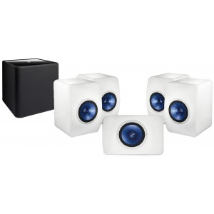KEF LS50 5.1 Speaker Package White