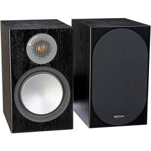 Monitor Audio Silver 100 Speakers (Pair) Black Oak