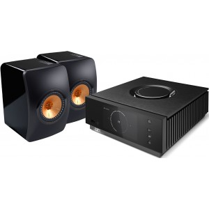 Naim Uniti Atom + KEF LS50 Speakers