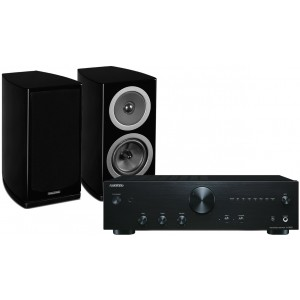 Onkyo A9010 Amplifier + Wharfedale Reva-1 Speakers