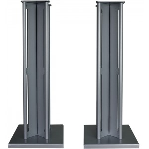 Partington Ansa 60 Speaker Stands (Pair) - Silver