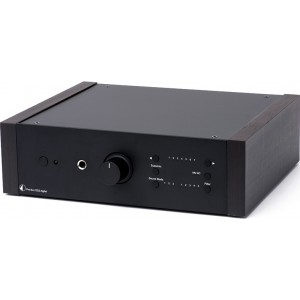 Pro-Ject Pre Box DS2 Digital Pre Amplifier- black with eucalyptus panels