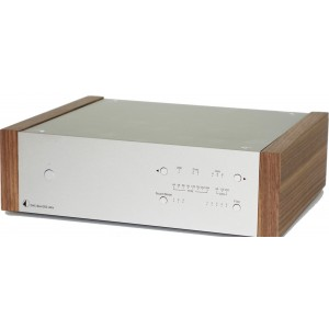 Pro-Ject DAC Box DS2 Ultra DAC-silver with walnut panels