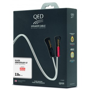 QED Reference Silver Anniversary XT Speaker Cable