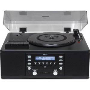 TEAC LPR500 Vinyl and Cassette System Black