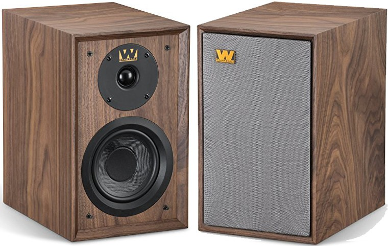 Wharfedale Diamond   Speakers Pair Walnut
