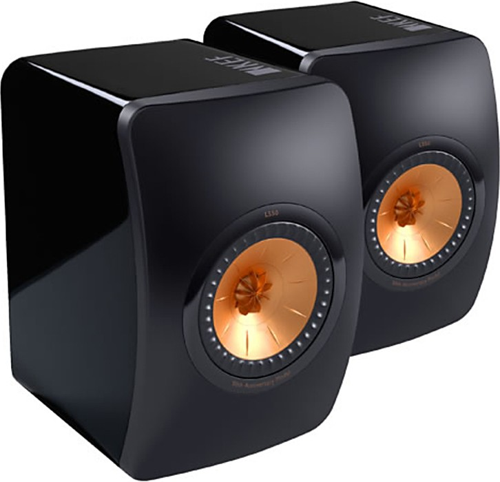 speakers black speakersb bookshelf kef