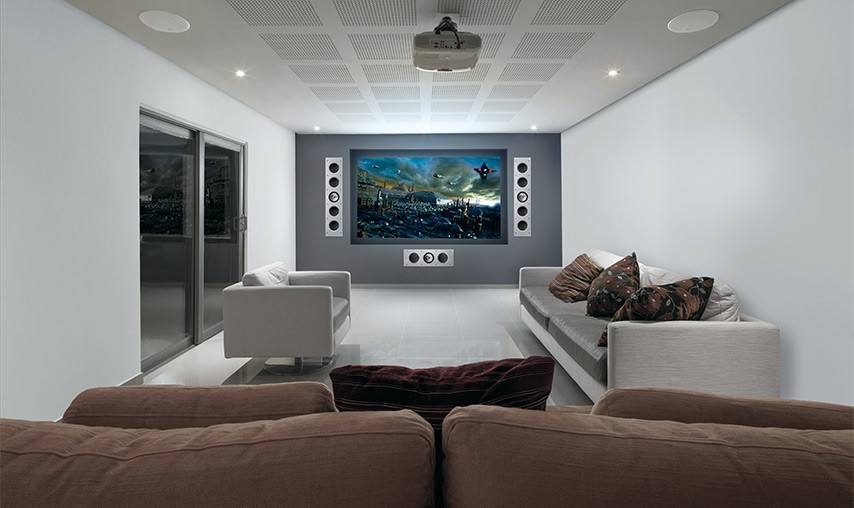 Kef Ci5160rl Thx In Wall Speaker At Audio Affair