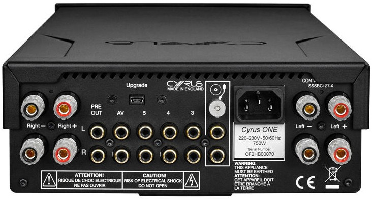 cyrus one integrated amplifier in hi fi at audio affair