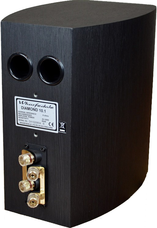 Wharfedale Diamond 10 1 Speakers Blackwood Bookshelf