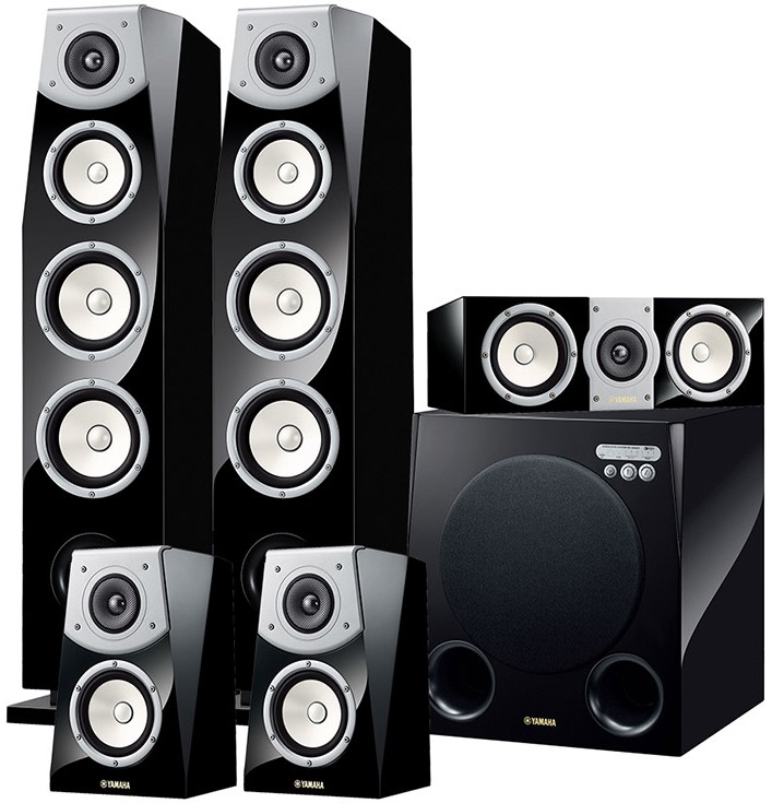 Yamaha ns av901 soavo 5 1 speaker package at audio affair for Yamaha ns 50 speaker pack