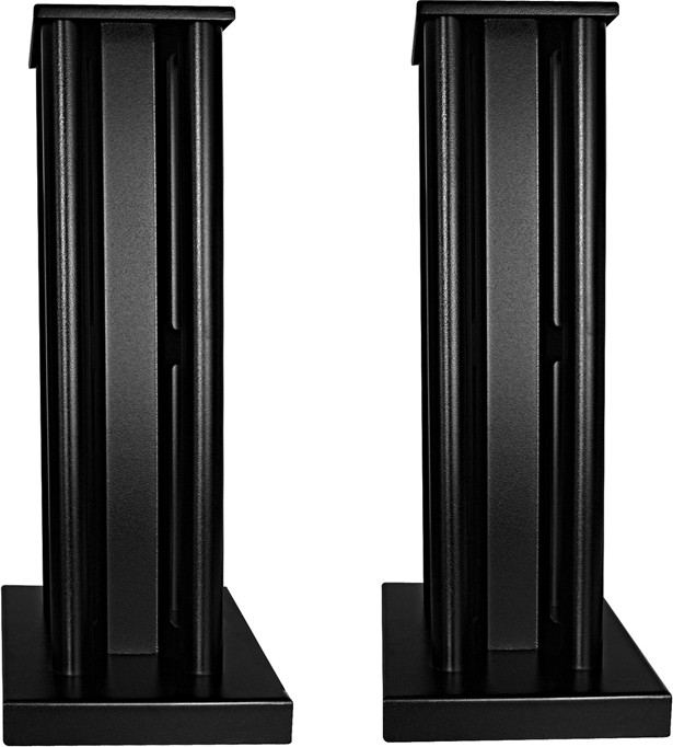 speakers and stands. partington broadside speaker stands (pair) side speakers and