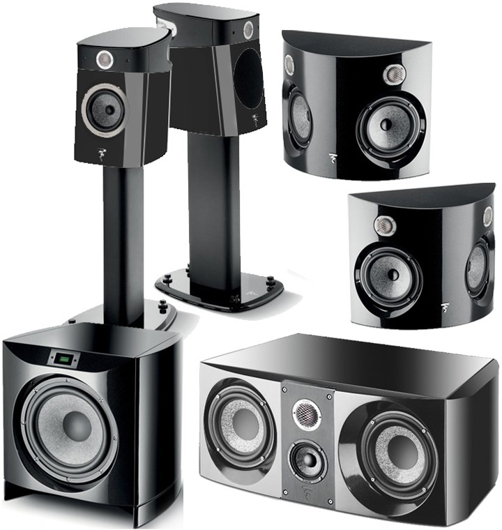 focal sopra no1 home cinema 5 1 speaker package at audio affair. Black Bedroom Furniture Sets. Home Design Ideas