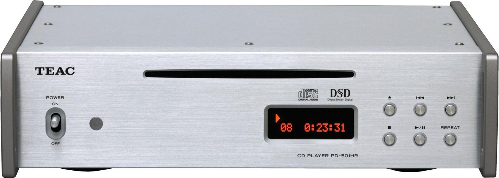 TEAC PD-501HR CD Player with DSD and PCM at Audio Affair