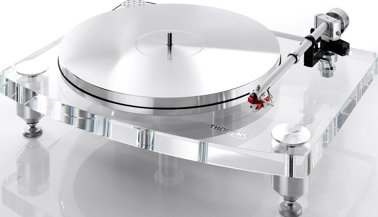 thorens td 2035 acrylic platter turntable for 3 in turntables analog at audio affair. Black Bedroom Furniture Sets. Home Design Ideas