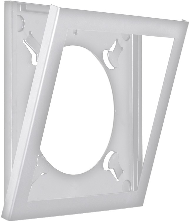 Art Vinyl Play And Display Lp Frame Single Pack In White