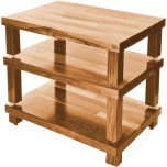 Hi-Fi Racks Podium Reference Hi-Fi 3 Shelf Stand Oak